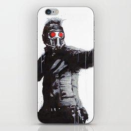 Star-Lord (Peter Quill) Guardians Graffiti Pop Urban Street Art iPhone Skin