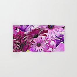 Purple Bouquet Hand & Bath Towel