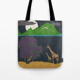 Dusk On The Plain Tote Bag