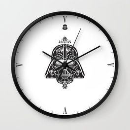 Darth Vader Card Wall Clock