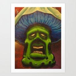 The Mushroom Man Art Print