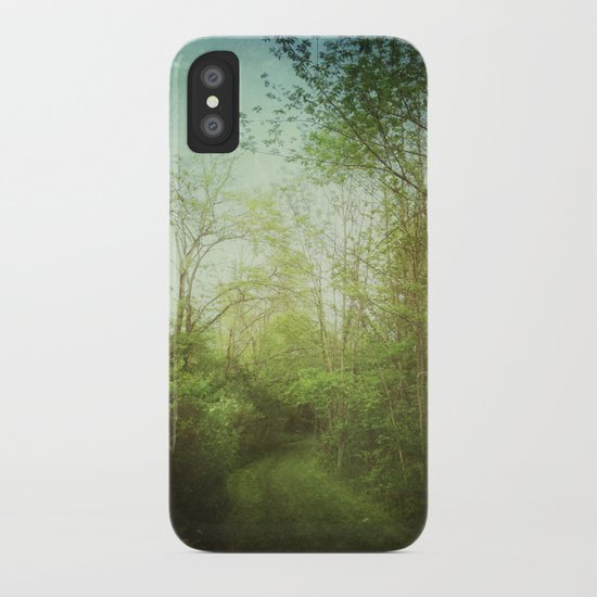 Follow Your Life Path iPhone Case