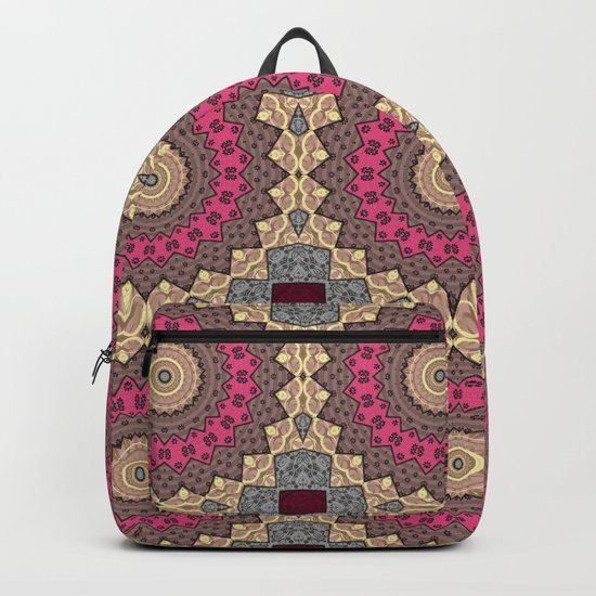Lazy patchwork . Abstraction . Backpack