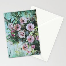 Shabby Pastel Floral Still Life Stationery Cards