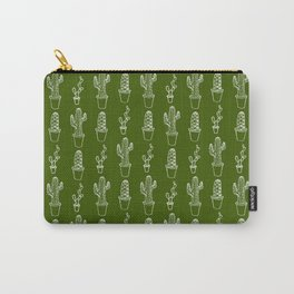 Cacti Pattern Carry-All Pouch