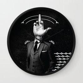 Mr.F. Wall Clock