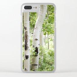 Aspens Clear iPhone Case
