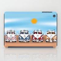 vans iPad Cases featuring VW Cammper Vans by Woofer