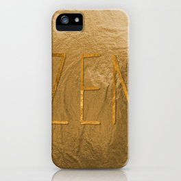Z E N iPhone Case