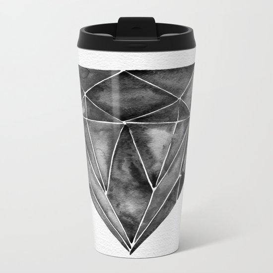 Black Diamond Metal Travel Mug