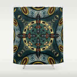 abstract jan1 2020 Shower Curtain