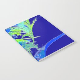 2015 Limited Addition Duvet Cover Abstract in BLUE Notebook