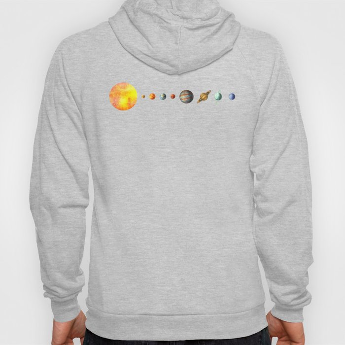 The Solar System Hoodie