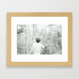 Survive Framed Art Print