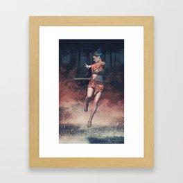 Entering Heavenly Land Framed Art Print
