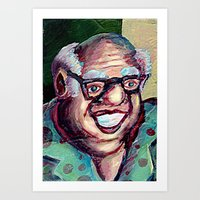 jack daniels Art Prints featuring Devvy Daniels by Matt Tanzi