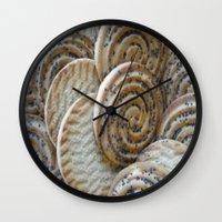 cookies Wall Clocks featuring Cookies by Vitta