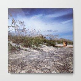 Charleston Dunes Metal Print