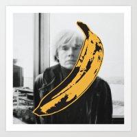 velvet underground Art Prints featuring Warhol Underground by NoHo