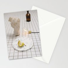 Marble Pear  Stationery Cards