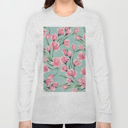 floral pattern 2 Long Sleeve T-shirt