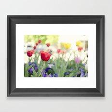 Welcome spring Framed Art Print