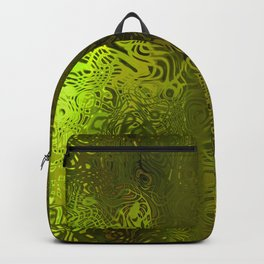 Green forest liquid Backpack