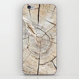 Wood Cut iPhone Skin
