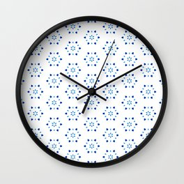 Shibori Watercolour no.6 Wall Clock
