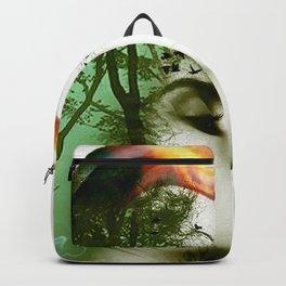 Teal Warrior Backpack