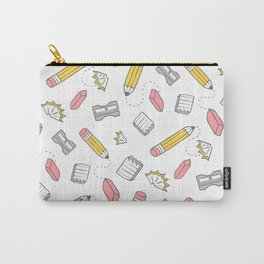 Pencil, eraser, sharpener. Carry-All Pouch