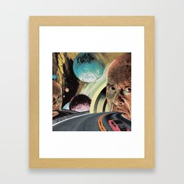 The Gates Framed Art Print