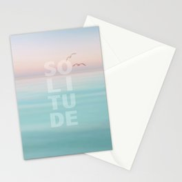 Solitude Calm Waters Stationery Cards