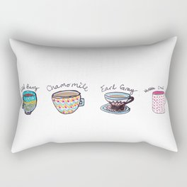 United States of Tea Rectangular Pillow