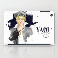 yaoi iPad Cases featuring Yaoi by Noemí duVallon