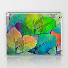 Translucent Leaves Laptop & iPad Skin