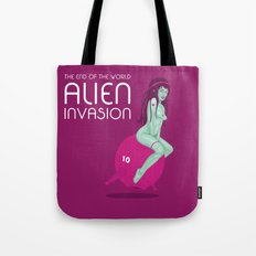 Alien Invasion Tote Bag