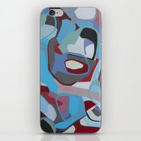 coke iPhone & iPod Skins featuring Cherry Coke by MadisonBlochArt