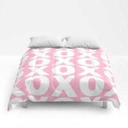 XOXO - Light Pink Pattern Comforters