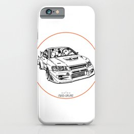 Crazy Car Art 0196 iPhone Case