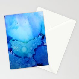 Ink Blues Stationery Cards