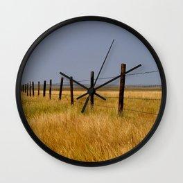 Prairie Mile Wall Clock