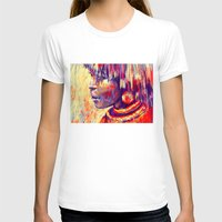 african T-shirts featuring African portrait by Marta Zawadzka