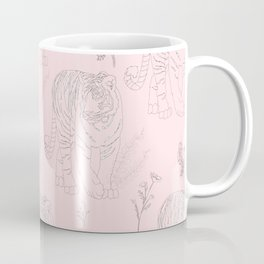 Wildflower Tiger Coffee Mug