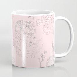 Wildflower Tiger Coffee Mug