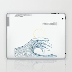 ring of the waves Laptop & iPad Skin
