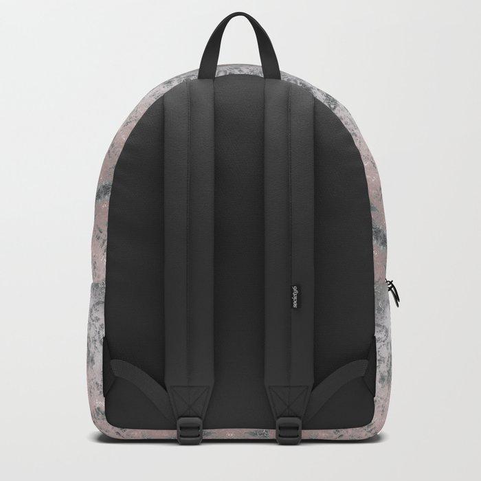 Grey-pink kaleidoscope Backpack