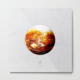 Element: Fire Metal Print