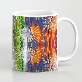 Induced Cosmic Revelations (Four Dreams, In Mutating Cycle) (Reflection) Coffee Mug