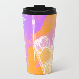 Fight through the bad days Travel Mug